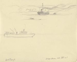 HMS Ark Royal, April 26th 1915