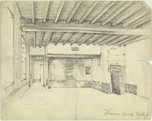 Interior of a Farm House, France, 20th November 1916