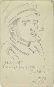 'God Bless Dear Old Blighty' - J. Ellicott, October 1916