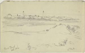 Sketch of Paris Plage, October 1916