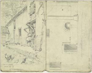 Doorway, France, October 25 1917 Sus St Leger, October 29 1916