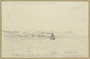 HMS Triumph Withdrawing to the NW, 3.20pm, May 12th 1915