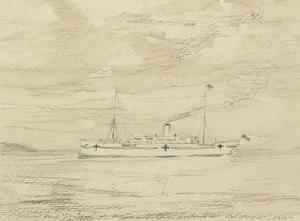 Hospital Ship 'Soudan', May 15th 1915
