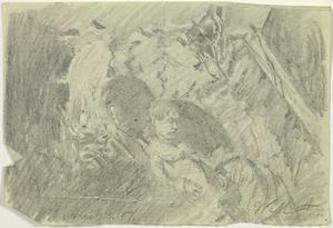 Inside a Dugout, 6 April 1917