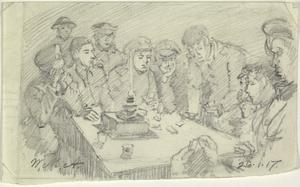 The Card Game, 26 January 1917