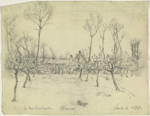 In the Orchard, France, 16 November 1916