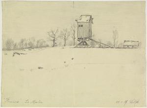 Le Moulin, France, 21 January 1917