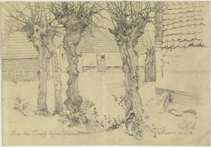 From the Guardroom Window, France, 11 December 1916