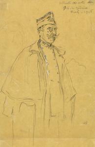 Portrait executé au Q-b du General Foch 1916