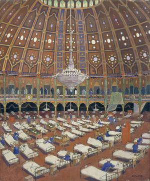 Indian Army Wounded In Hospital in the Dome, Brighton