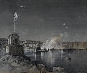 The Bombing of Beyrout Harbour