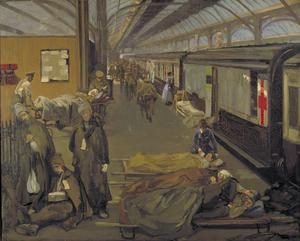 The Wounded At Dover, 1918