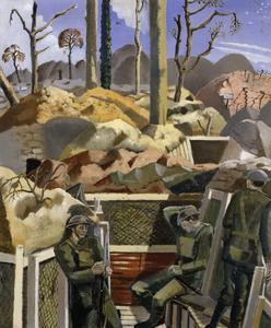Spring in the Trenches, Ridge Wood, 1917