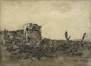 A Wrecked German Concrete Fort, Pozières