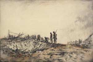 On The Road To Cambrai, 1917