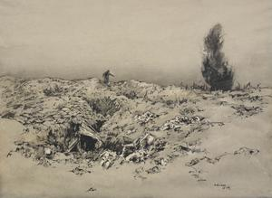 Trenches In Front Of Arras : The Runner