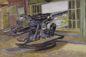 Study for 'The Gunnery Lesson'