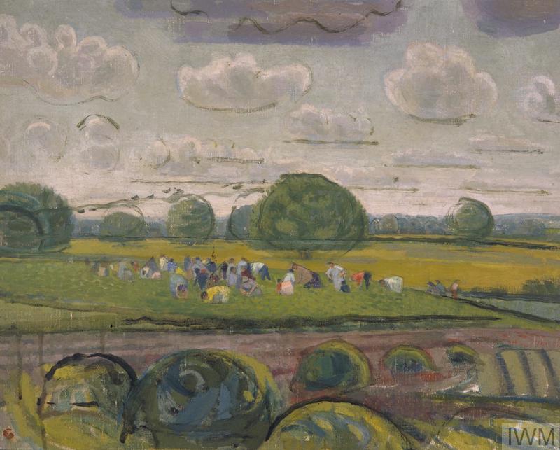 Pea Picking at Ripper's Cross Farm c.1945
