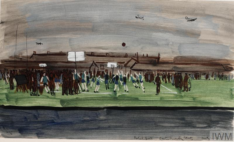 Basket Ball at Easter Monday Sports, 1940