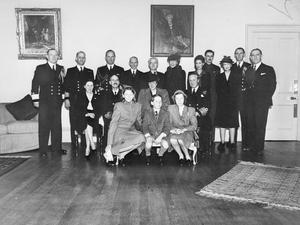 THE NORWEGIAN ROYAL FAMILY DURING THE SECOND WORLD WAR