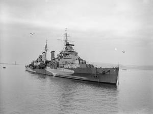 HMS BELFAST DURING THE SECOND WORLD WAR