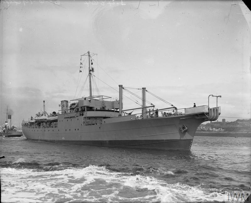 HMS BULLFROG