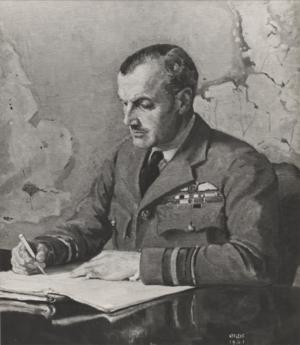 Air Vice-Marshal J C Slessor, DSO, MC