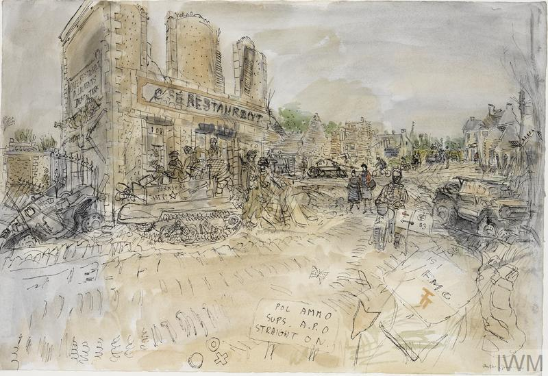 Liberation and Battle of France: Jerusalem Cross Roads, 13th June 1944