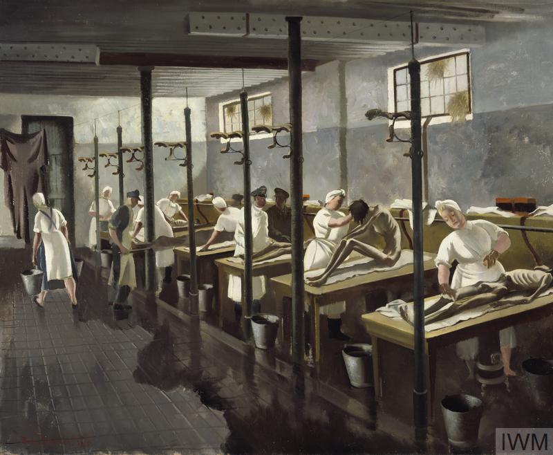 Human Laundry, Belsen: April 1945