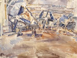 HMS Hunter: The Hangar Deck