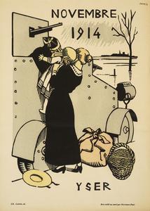 Calendrier de la Guerre.1e Annee Aout 1914 Juillet 1915: Novembre 1914