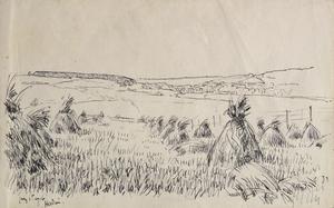 Landscape near Hesdin