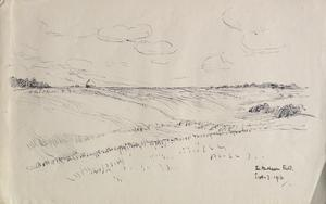 The Mushroom Field, near Hesdin