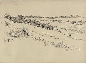 Landscape near Saint-Omer