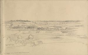 Landscape - from Wisques, looking towards Estrée Blanche mines