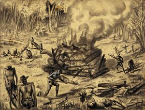 The Burning of the Cholera Dead