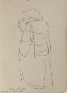 At Sea - Soldier in Life Jacket, 1941