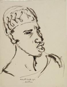 Portrait of a Man, Mombasa, December 1941