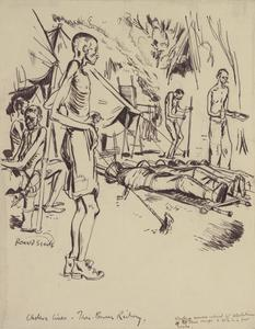Sick and Dying: Cholera Lines - Thai-Burma Railway, 1943