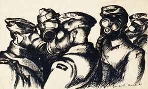 Blackpool, 1941 - Gas Drill