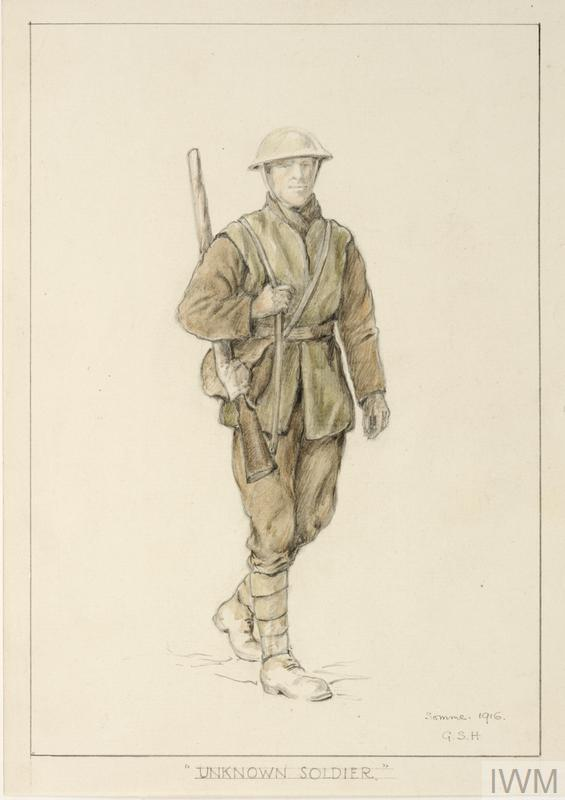 First World War Sketchbook Volume 1 - Unknown Soldier ...