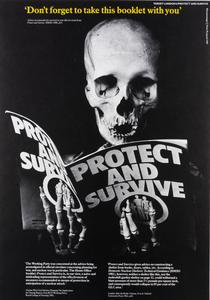Protect and Survive, Target London 6, A Set of Photomontage Posters on Civil Defence in London