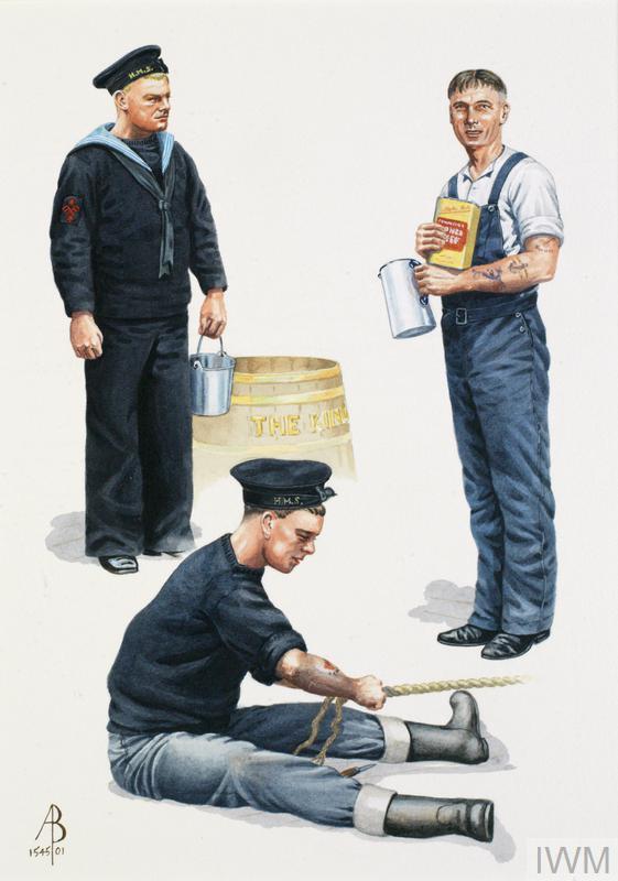 Royal Navy WW2: Visual Signalman, 1939; Rating, Coastal Waters 1939 ...