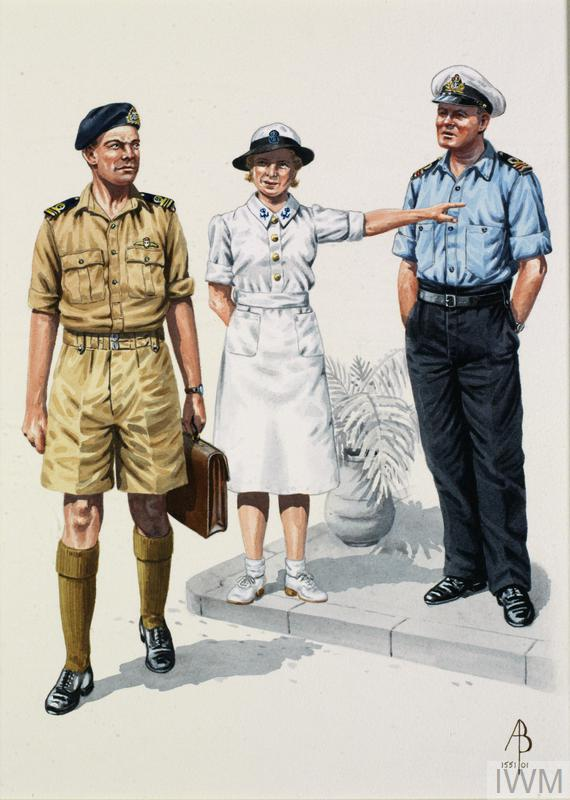 Pacific and Far East: Royal Navy WW2: Lieutenant Commander, Pacific 1945; WRNS Chief Wireless Telephonist, Far East 1945; Surgeon Lieutenant Commander, RNVR, Pacific 1945