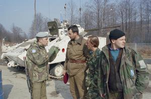 BRITISH FORCES IN BOSNIA 1993