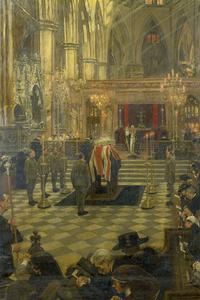 The Funeral Service of Edith Cavell at Westminster Abbey, 15th May 1919