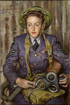 Corporal J M Robins, MM, WAAF