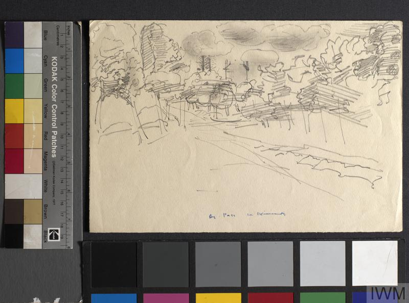 By Pass Le Deliverande: Series of sketches for work in IWM