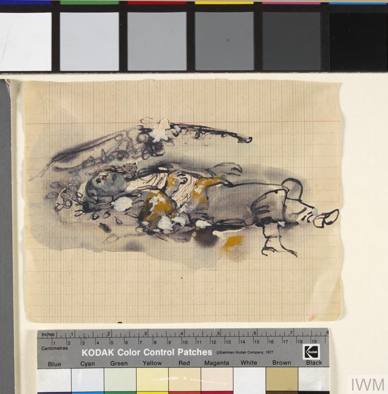 Corpse: Series of sketches for work in IWM