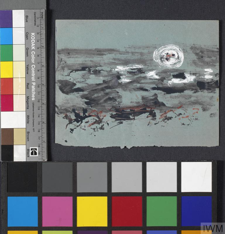 Landscape: Series of sketches for work in IWM